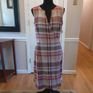 Liz Claiborne Wrap-Tie Dress